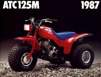 Atc M on 1987 Honda Atc 125m